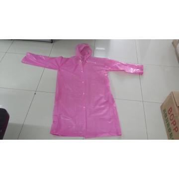 Emergency camping disposable cheap raincoat