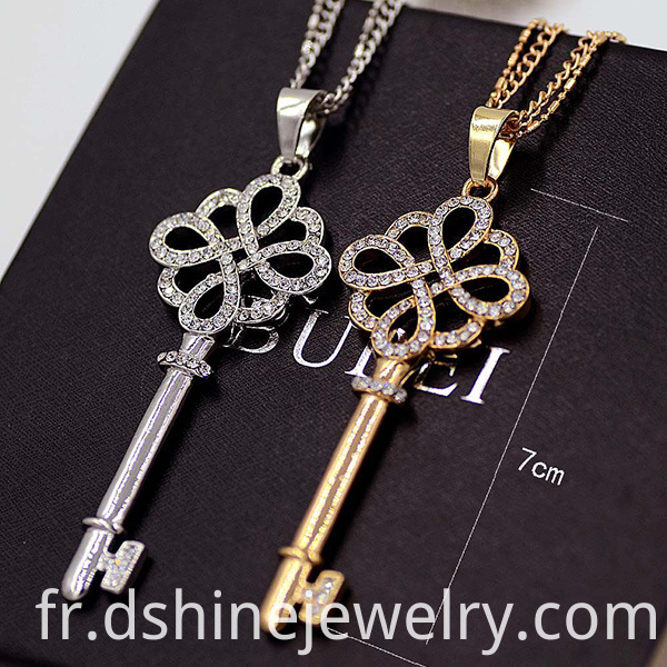 Key Necklace For Lady