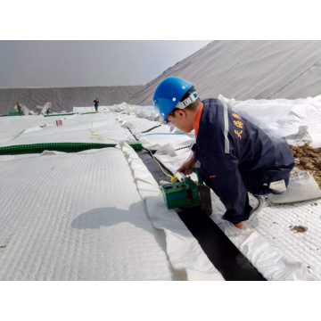 Reinforcement Composite Geomembrane for Landfill Dam Liner