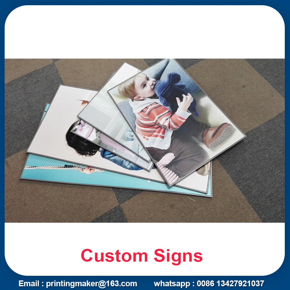 printed pvc sign boards