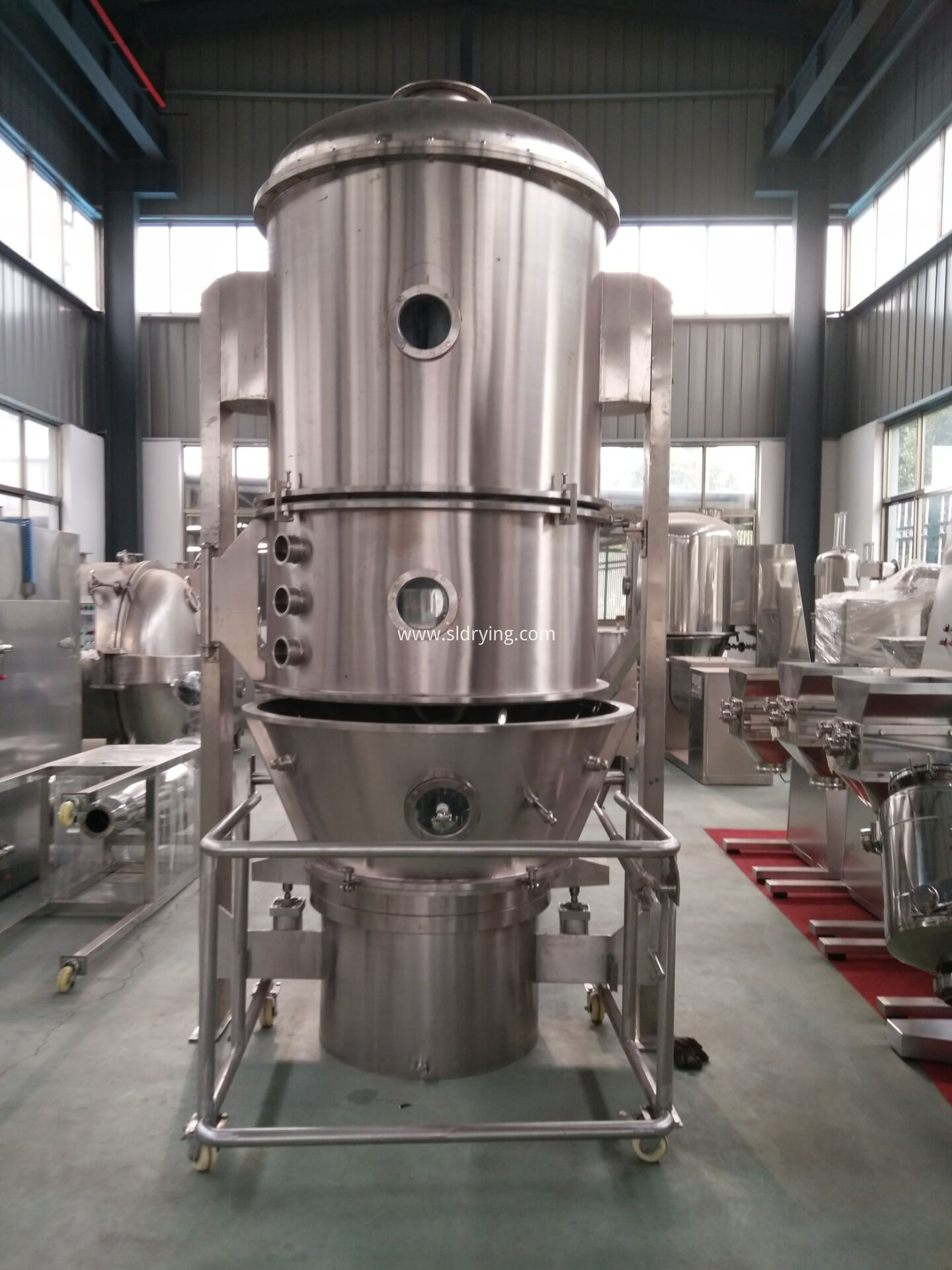 Fluidized Granulator