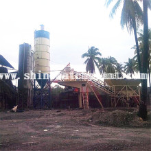 High Definition For for 50 Portable Concrete Plants 50 Portable Concrete Plants supply to Papua New Guinea Factory