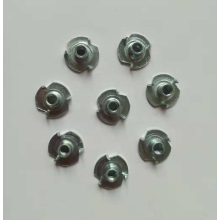 Full thread Zinc plated Three jaw Insert nut
