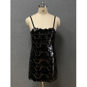 women's black sexy dress