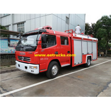 1000 Gallons 4ton Small Fire Vehicles