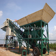 Popular 50 Mobile Concrete Plant in Maldev