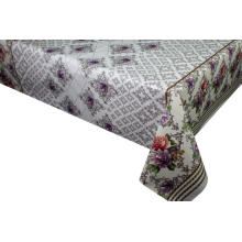 Pvc Printed fitted table covers Table Linens Discount