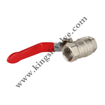 Internal screw ball valves