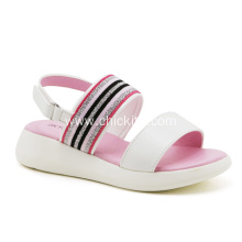 Pink/Blue PU Wedges Platform Shoes For Girls