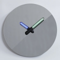 Mirror Face Decorative Wall Clock Night Light