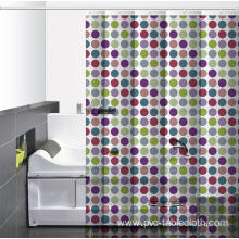 5 Dollar Waterproof Bathroom printed Shower Curtain