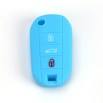Silicone Car Key Case For Peugeot 3008