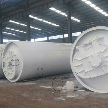guranteed tires pyrolysis machinery