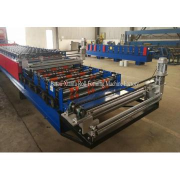 1220mm Metal Troughed Sheet Roof Roll Forming Machine