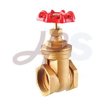 Non rising stem brass gate valve for water