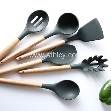 Household Non-stick Cookware With Spatula And Spoon