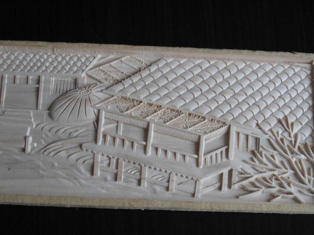 carving sample made by cnc carving machine