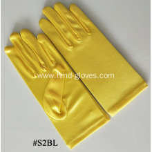 Satin Elbow Length Gloves