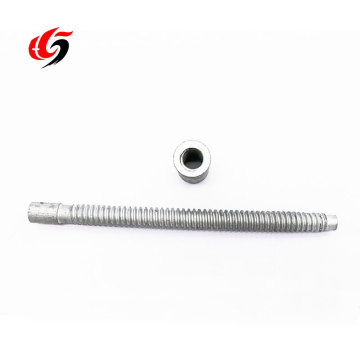 stainless steel single end threaded rod