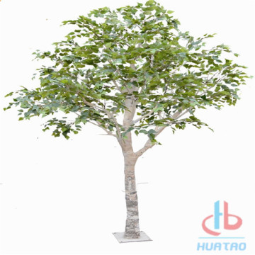 Fire Resistant Artificial brich tree