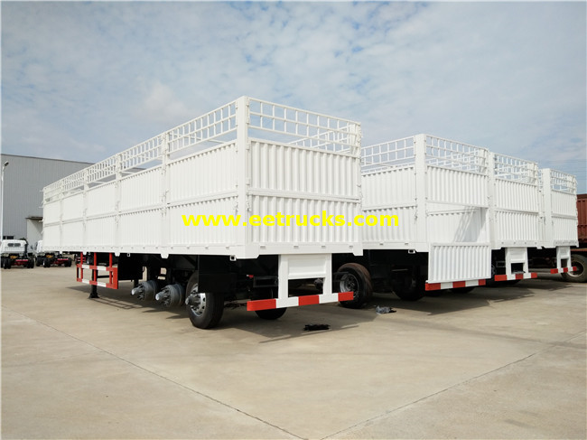 35ton Cargo Box Semi Trailers