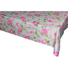 Pvc Printed fitted table covers Linens