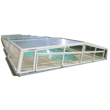 Sliding Hard Retractable Polycarbonate Swimming Pool Cover