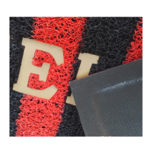Indoor outdoor pvc floor mat plastic and using