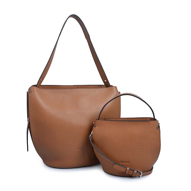 fashion female bucket bag brand leather handbags