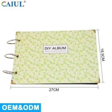 Personlized Products for Calendar Photo Album DIY Floral Printing Kraft Album supply to Armenia Exporter