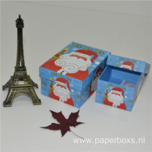 Custom High End Blue Christmas Gift Paper Box
