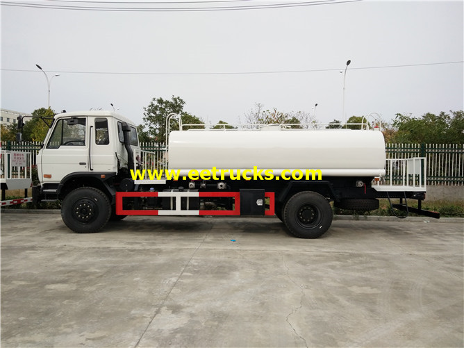 12000L 170hp Water Sprinkling Tanker Vehicles