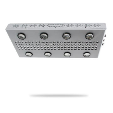 led grow light with dual lens