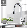 Cupc faucet single lever pull out kitchen faucet