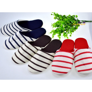 Indoor Slipper Women Smooth Suede Fabric Sole