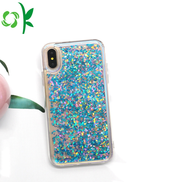 Bling Quicksand Bluelight Phone Case