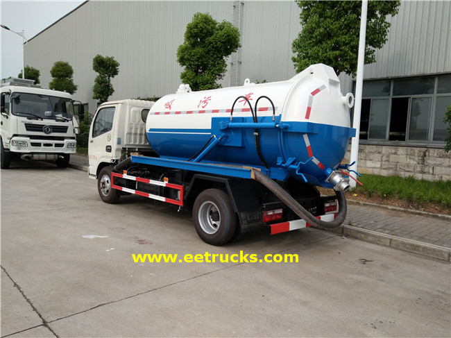 Vacuum Sewage Suction Trucks