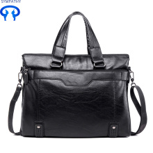 China Professional Supplier for China Supplier of Business Bag, Office Bags For Mens, Mens Work Bags Men's shoulder bag with Korean style leisure briefcase supply to Virgin Islands (British) Manufacturer