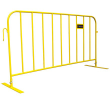 crowd control barriers size