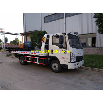 FAC 5ton Flatbed Towing Trucks
