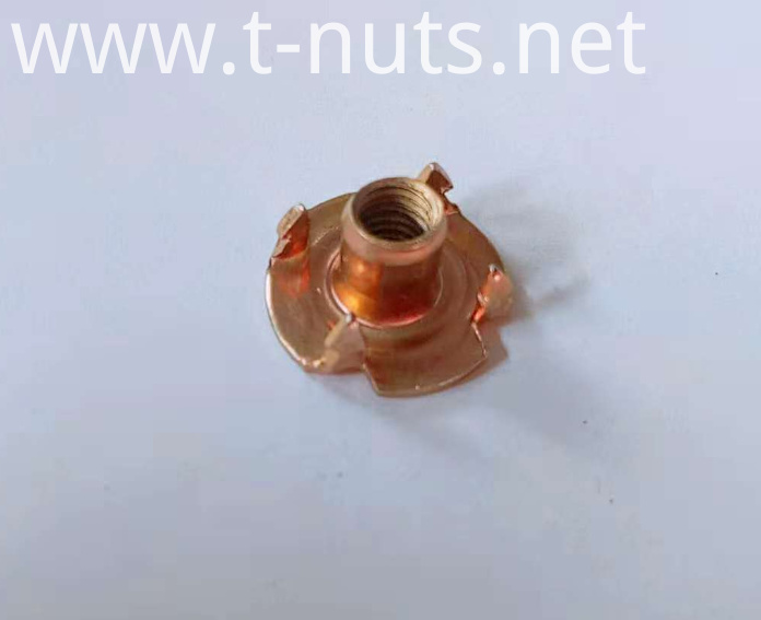Color Zinc Plating Tee Nuts