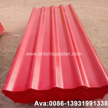 Fiberglass Reinforced PET-Membrane MgO Corrugated Roof Tiles