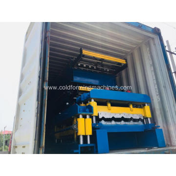 Roofing Glazed Tile Panel Machine