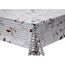 3D Laser Coating Tablecloth Orange