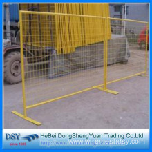 Customized for Galvanized Temporary Fence Low Carbon Steel Durable Movable Fence supply to Argentina Importers