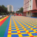 waterproof pp plastic outdoor sport court basketball flooring