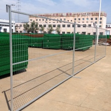 Canada temporary removable cheap wrought iron fence panels