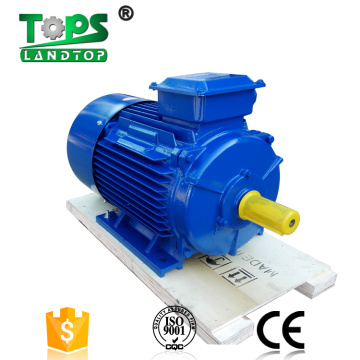 High rpm three-phase Y2 cast iron electric motor