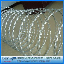 Cheap PriceList for Galvanized Razor Barbed Wire High Quality Razor Barbed Wire Price export to Bahrain Importers