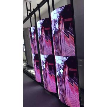 Indoor flexible LED display video no cabinets
